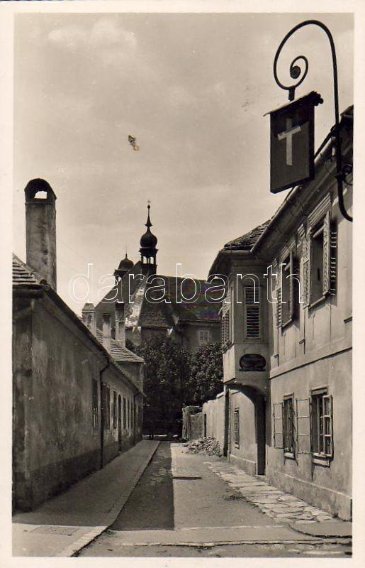 Kőszeg, Ege Miklós street, church, Kőszeg, Ege Miklós utca, Szent Imre templom