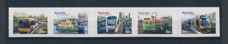 Transport self-adhesive stripe of 5, Szállítás öntapadós ötöscsík