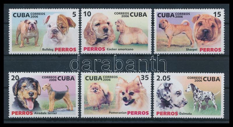 Dog breeds set, Kutyafajták sor