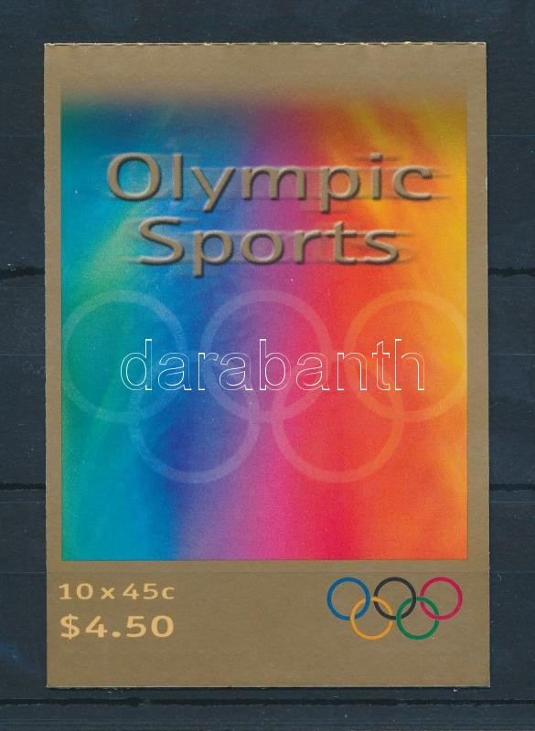 Olympics stamp-booklet, Olimpia bélyegfüzet