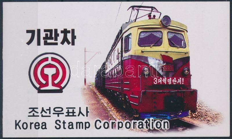 Locomotive stampbooklet, Mozdonyok bélyegfüzet