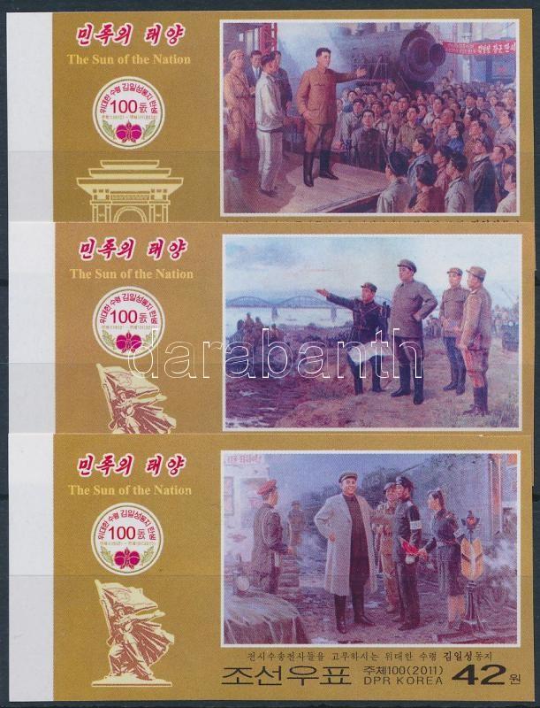 Kim Il Sung imperf, Kim Il Sung vágott