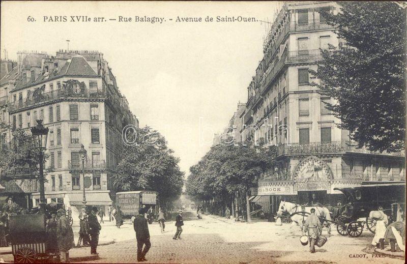 Paris, Rue Balagny, Avenue de Saint Ouen, Contentieux / streets, lawyer's office