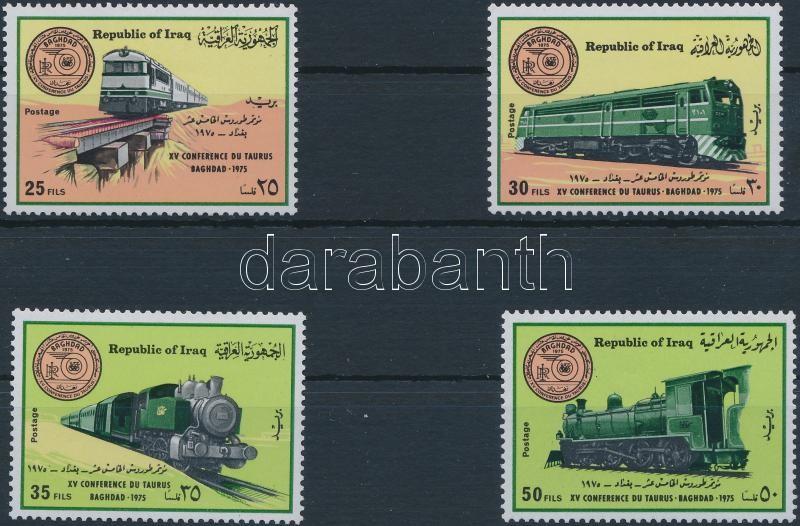 Railway Conference, Baghdad set, Vasút Konferencia, Bagdad sor