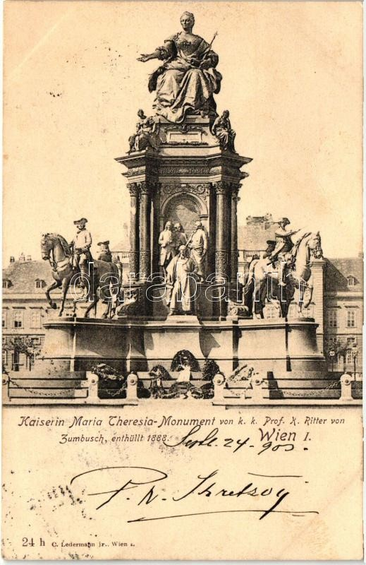 Vienna, Wien I. Kaiserin Maria Theresia monument