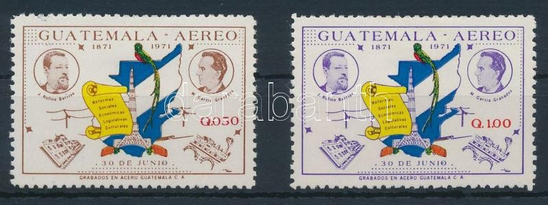 Reform set closing stamps, Reform sor záróértékei