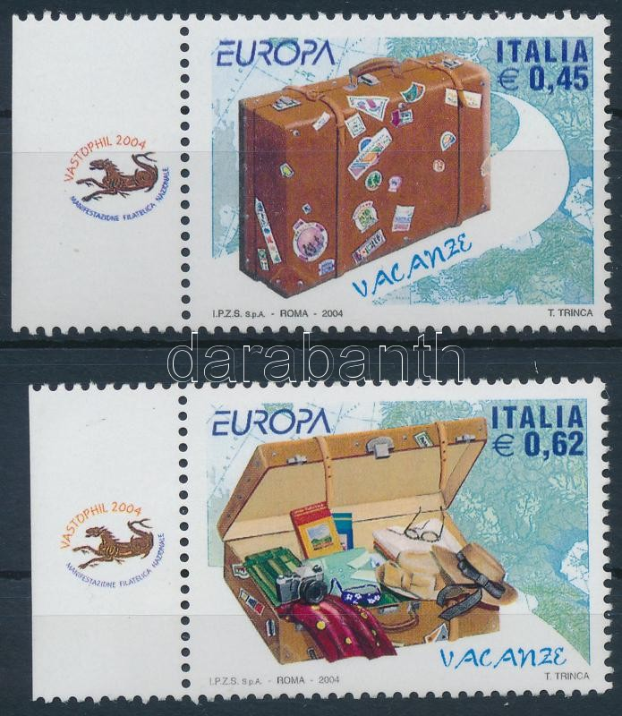 Europa CEPT, Celebration margin set, Europs CEPT, Ünnep ívszéli sor