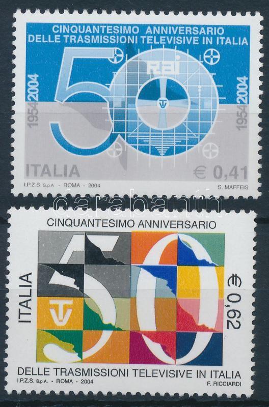 50th anniversary of Italian television set, 50 éves az olasz televízió sor