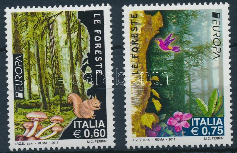 Europa CEPT, forest set, Europa CEPT, az erdő sor