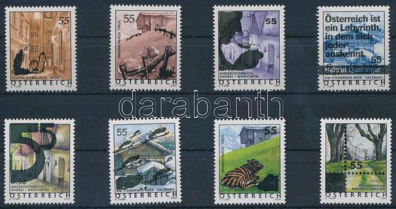 Overprinted definitive stamps, Felülnyomott forgalmi bélyegek