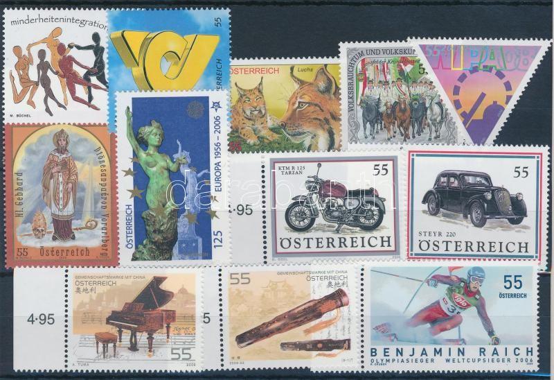 12 stamps, 12 db bélyeg