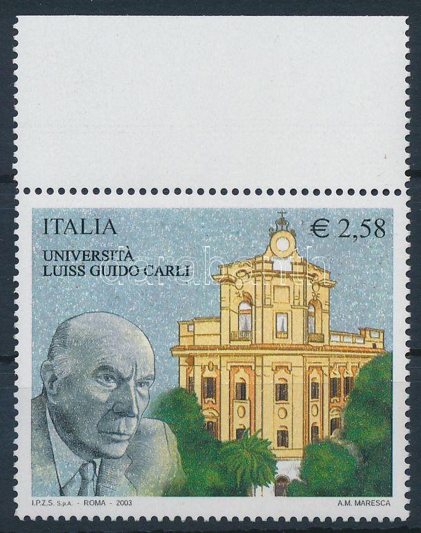 Schools and universities margin stamp, Iskolák és egyetemek ívszéli bélyeg