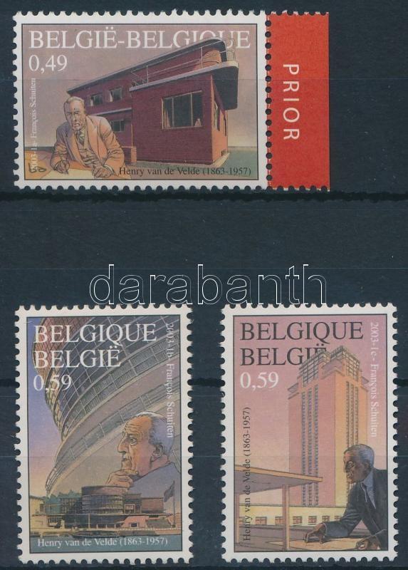 Henry van de Velde set, Henry van de Velde születésének 140. évfordulója sor