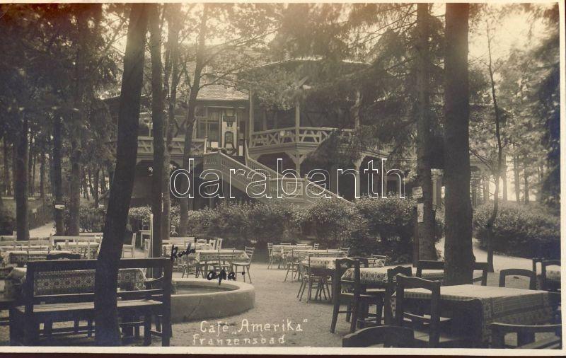 Frantiskovy Lazne, Franzensbad; Cafe Amerika