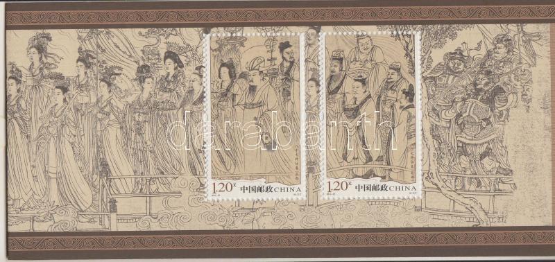 The 87 Immortals stamp booklet, A 87 Halhatatlan bélyegfüzet