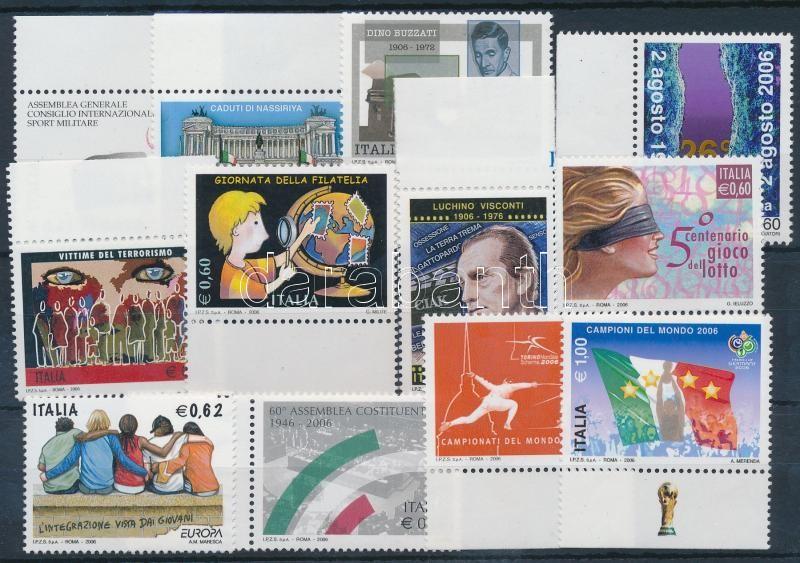 12 diff stamps, 12 db klf bélyeg, közte ívszéli értékek