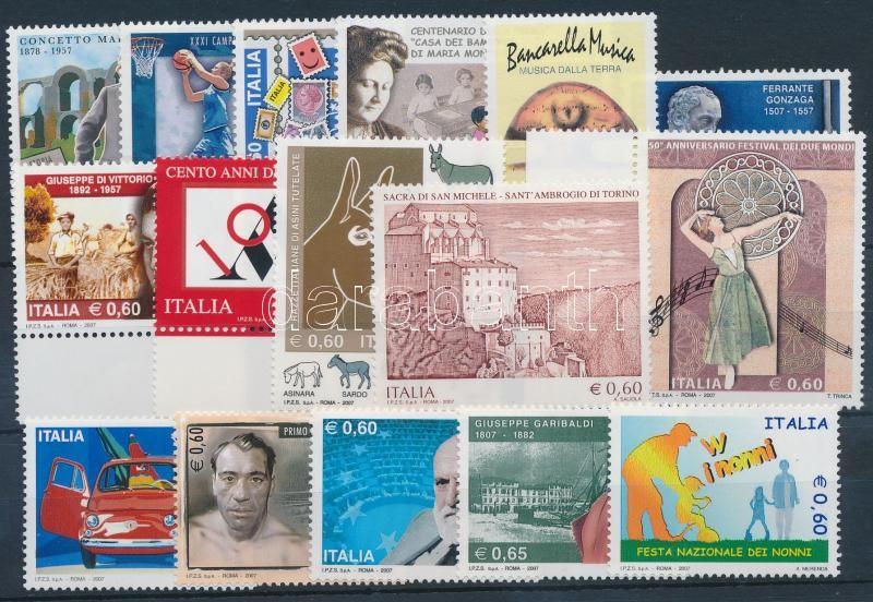 16 stamps, 16 db klf bélyeg, közte ívszéli értékek