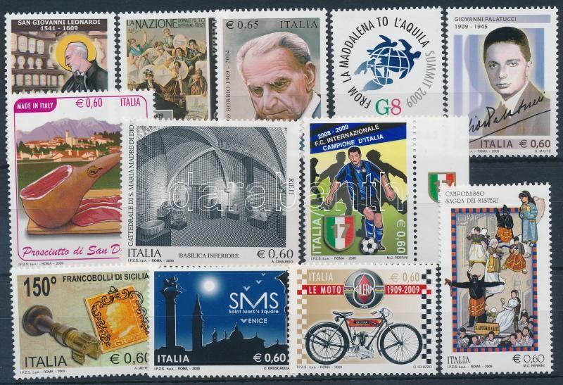 12 stamps, 12 db klf bélyeg