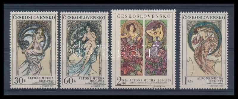 Alfons Mucha Illustration set, Alfonz Mucha Illusztrációk sor