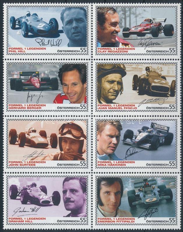 Formula 1 (III.) block of 10, Forma-1 autóversenyzők (III.) tizes tömb