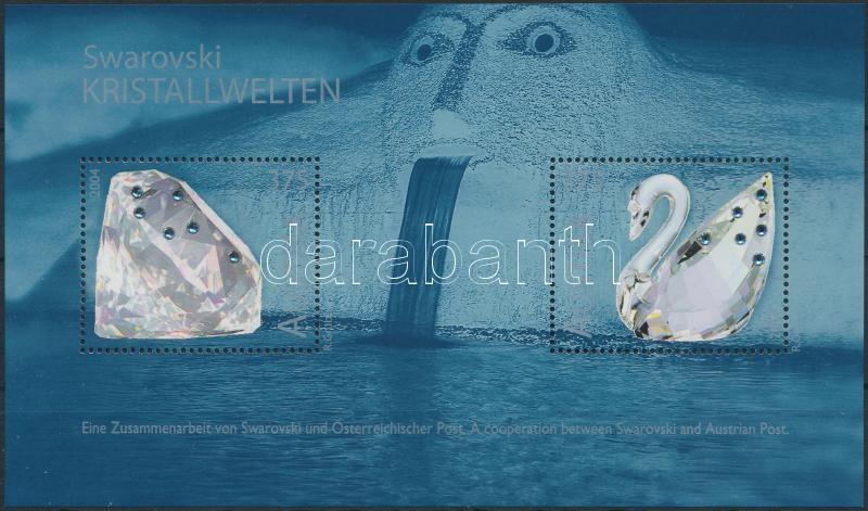 Swarovski kristály blokk, Swarovski crystal block