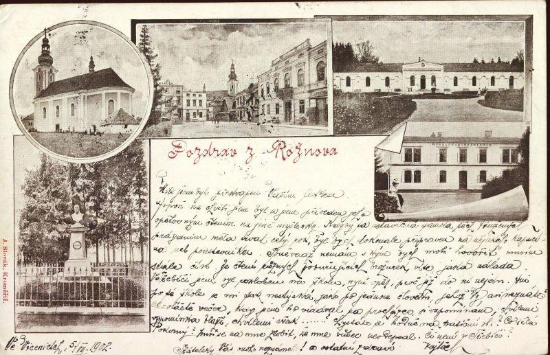 Roznov pod Radhostem, church, monument, Rudolph Stefaniarum