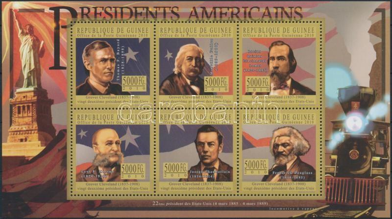 US Presidents mini sheet, Amerikai elnökök kisív