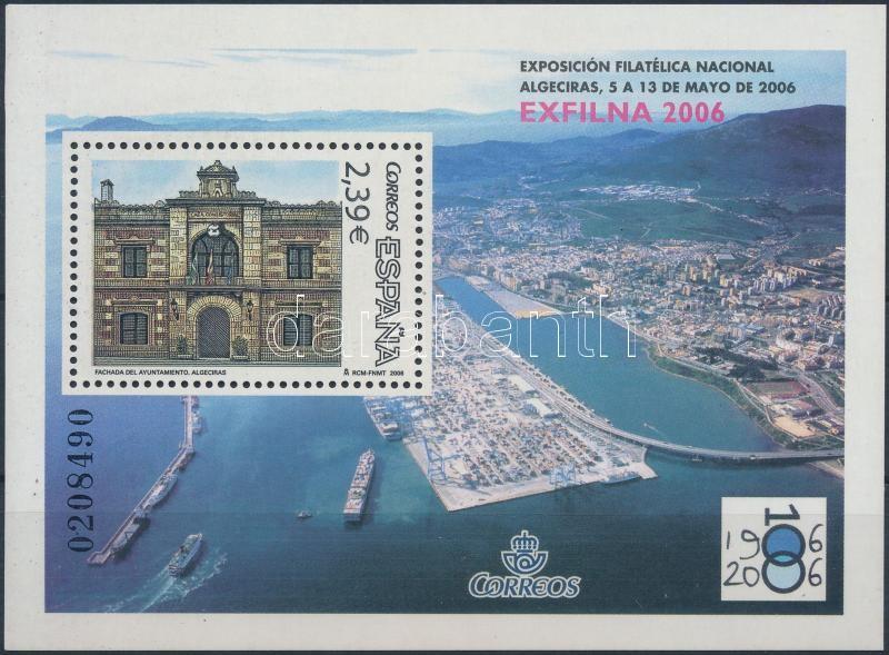 EXFILNA'06 Stamp Exhibition block, EXFILNA'06 Bélyegkiállítás blokk