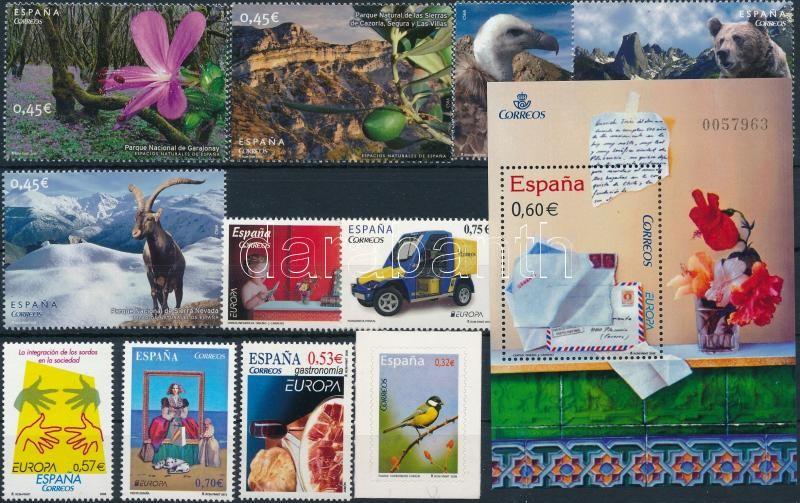 2005-2013 11 stamps + 1 block, 2005-2013 11 db bélyeg + 1 db blokk