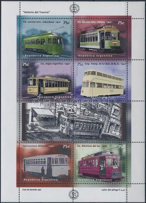 Railway mini sheet, Vasút kisív