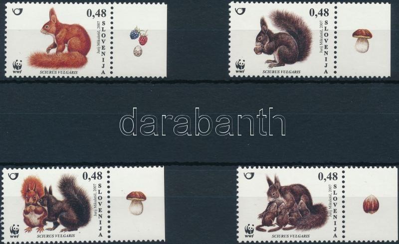 WWF: European red squirrel set, WWF: Európai vörös mókus sor