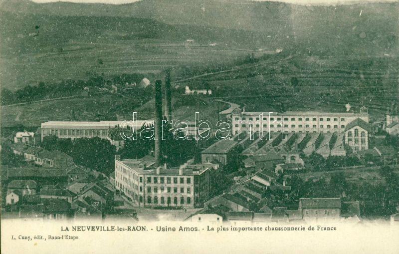 Raon-l'Étape (La-Neuveville-les-Raon) Usine Amos / factory