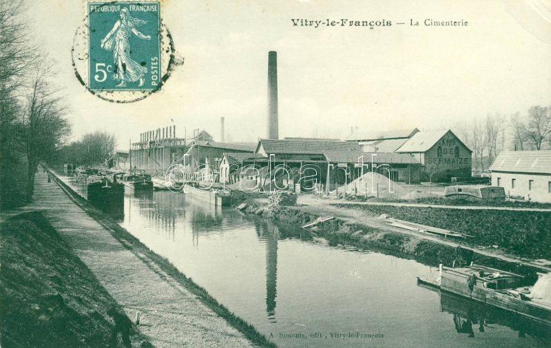Vitry-le-Francois, Cimenterie / Cement factory