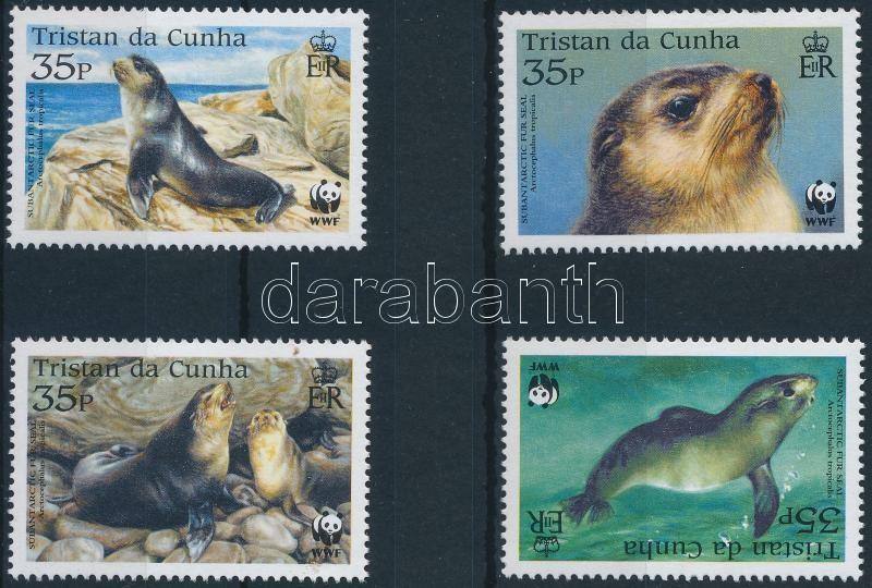 WWF Fur seals set, WWF: Medvefóka sor