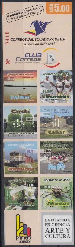 Definitive foil-sheet with self-adhesive stamps, Forgalmi fóliaív öntapadós bélyegekkel