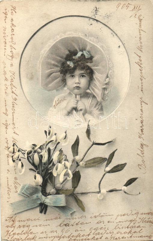 Girl, flower, Lány, virág