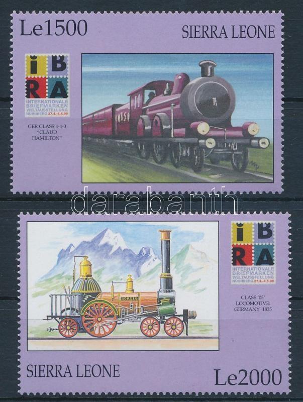 International Stamp Exhibition IBRA Nuremberg set, Nemzetközi Bélyegkiállítás IBRA, Nürnberg sor