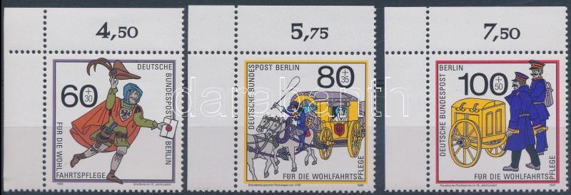 Wohlfahrt: Mail Service corner set, Wohlfahrt: Postaszolgálat ívsarki sor