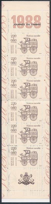Stamp Day stampbooklet, Bélyegnap bélyegfüzet