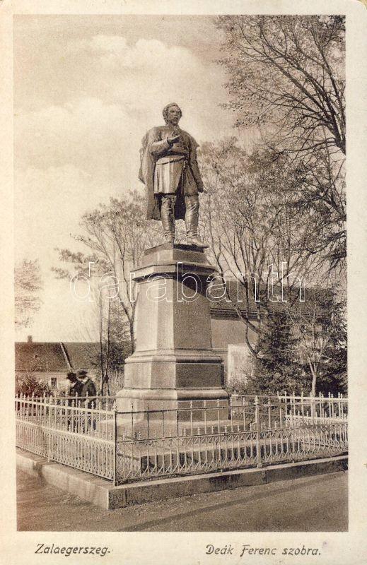 Zalaegerszeg, Deák-szobor