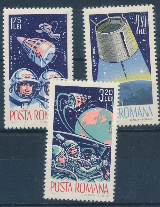 Space research set, Űrkutatás sor