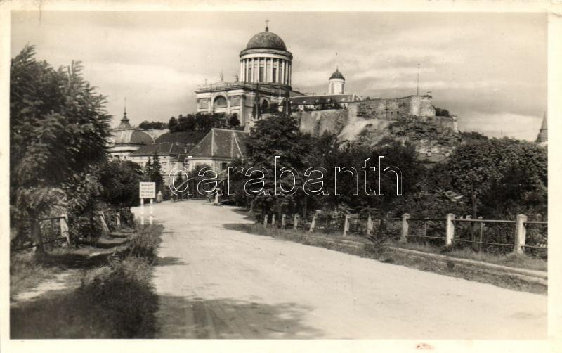 Esztergom, Bazilika a várbástyával
