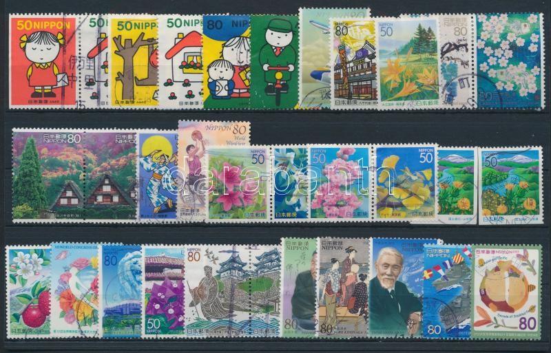 32 stamps, 32 db bélyeg, közte sorok és összefüggések