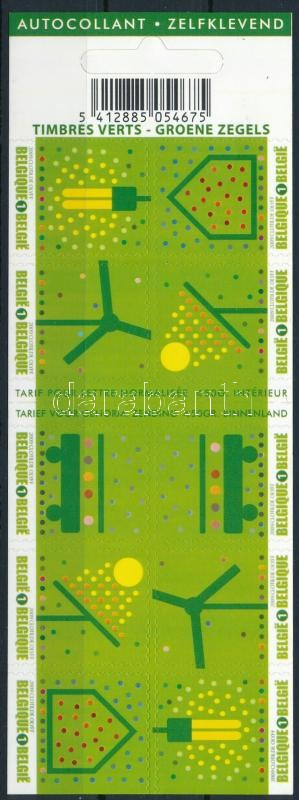 Environmental Protection self-adhesive stamp-booklet, Környezetvédelem öntapadós bélyegfüzet