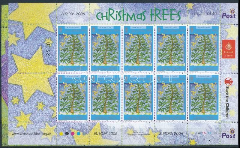 2006 Europa CEPT; Karácsony 2 klf kisív, Europa CEPT; Christmas 2 mini sheets