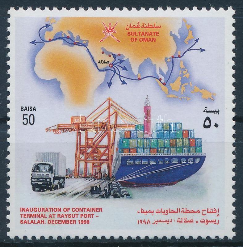Harbor, boat Raysut, Salalah, Kikötő, hajó Raysut, Salalah