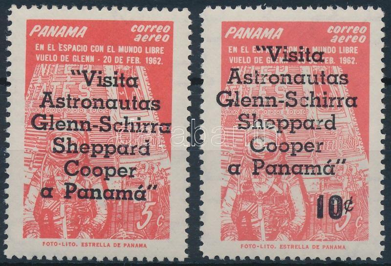Republic of Panama stamp Space overprinted set MNH 1963 Mi 656-657 WS222704