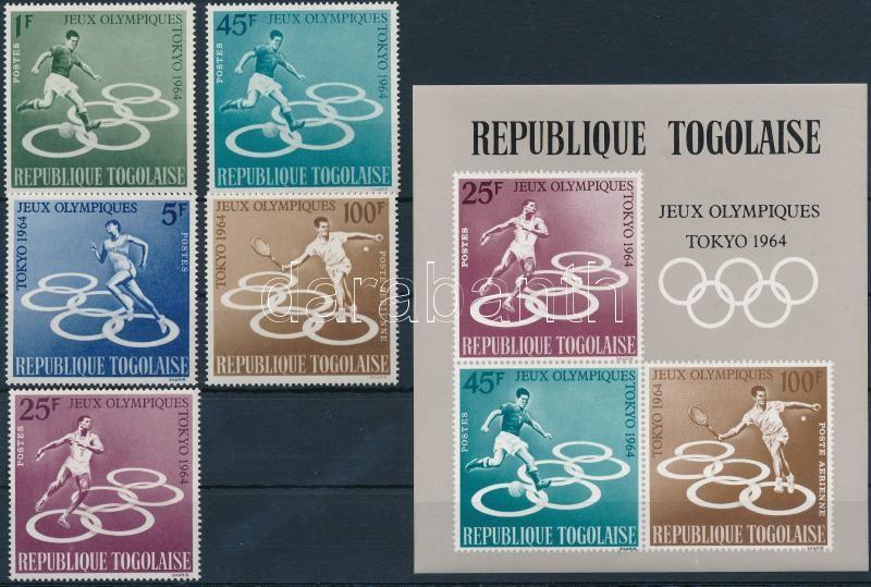 Nyári Olimpia, Tokió sor + blokk, Summer Olympics, Tokyo set + block