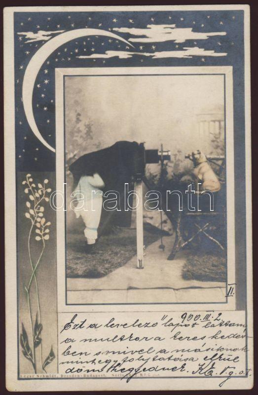 Kid and dog, Edgar Schmidt, Art Nouveau, Gyere, és kutya, Edgar Schmidt, Art Nouveau