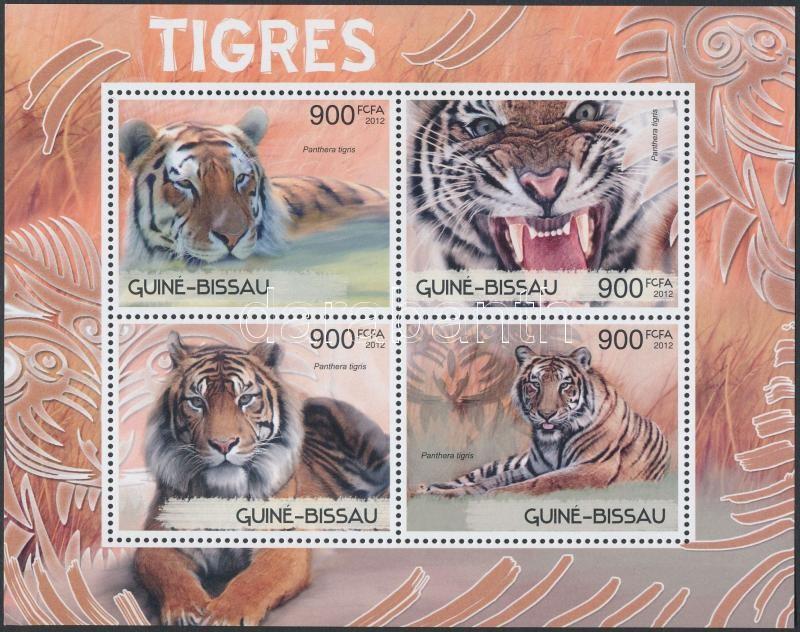 Tiger mini sheet, Tigris kisív